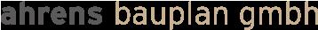 Ahrens Bauplan Logo