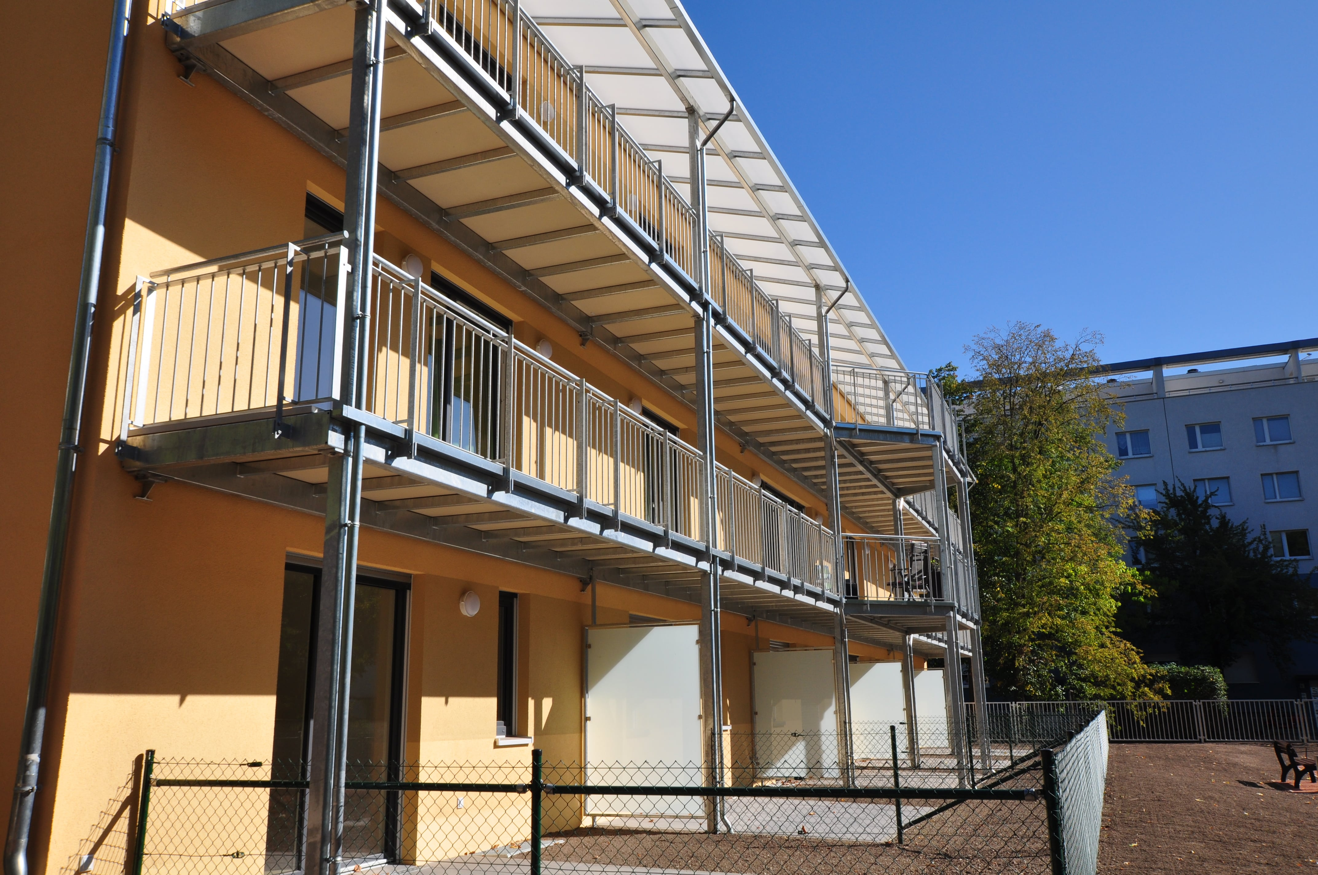 Gustav-Weidanz-Weg Balkone